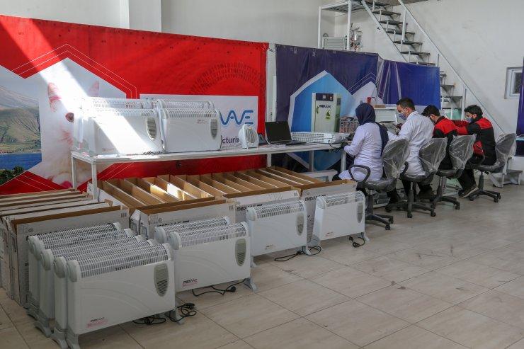Van'da üretilen hava dezenfekte cihazına yoğun ilgi