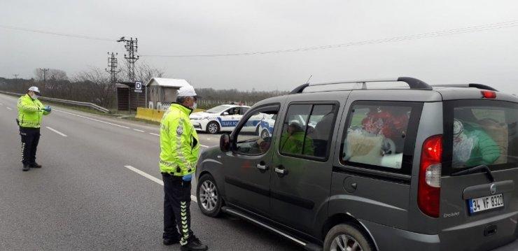 """Sürücülere """"zorunlu olmadıkça yolculuk yapmayın"""" uyarısı"""