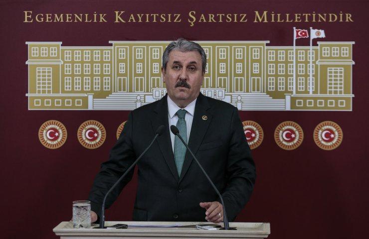 BBP Genel Başkanı Destici, koronavirüsle mücadele için yeni önerilerde bulundu: