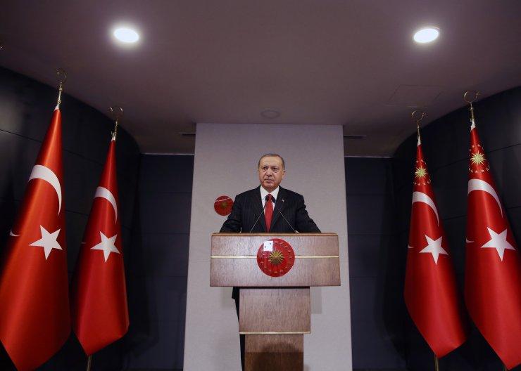 Cumhurbaşkanı Erdoğan, Kabine Toplantısı'nın ardından konuştu: (1)