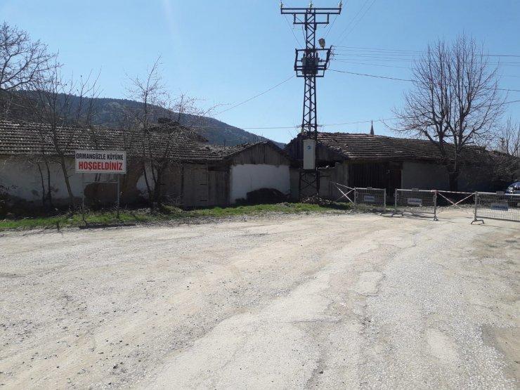 Bilecik'te bir köy koronavirüs nedeniyle karantinaya alındı