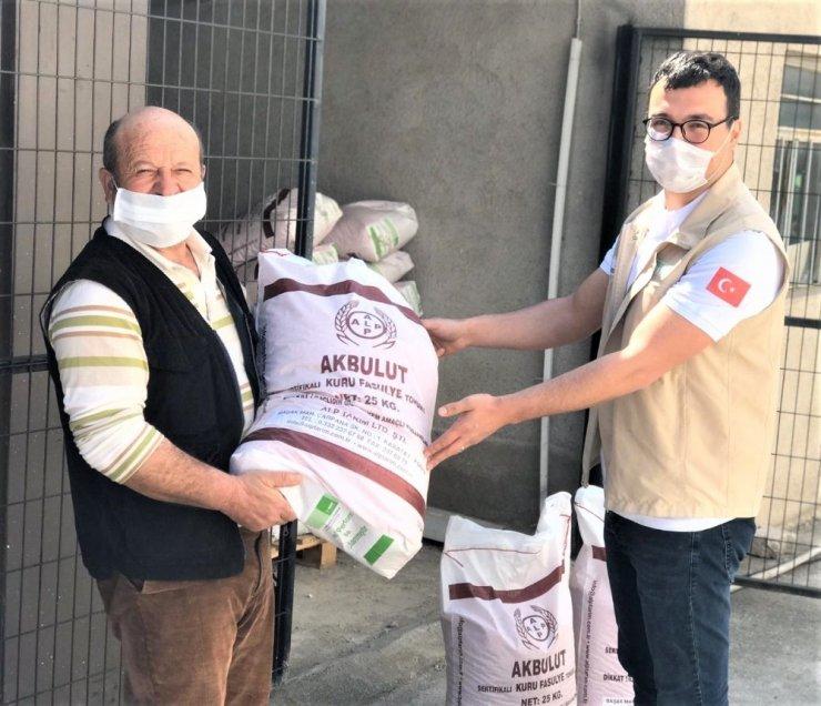 Çiftçilere tohum destekleri verilmeye başladı