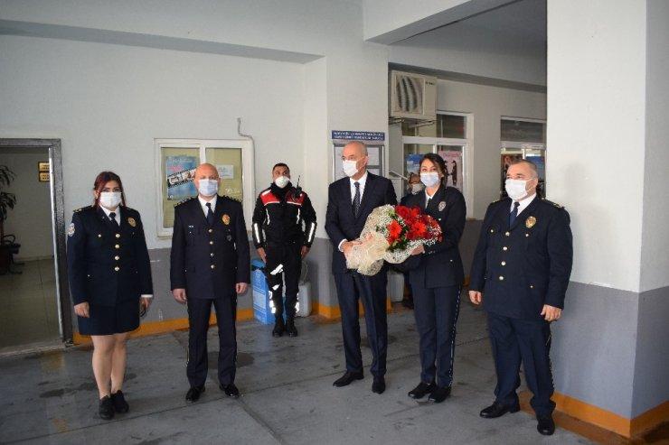Marmaris'te Türk Polis Teşkilatının kuruluşunun 175. yılı düzenlenen törenle kutlandı