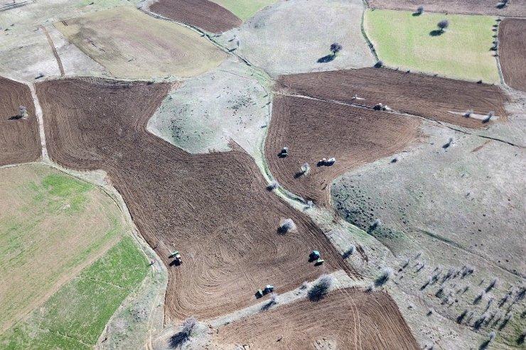 Gümüşhane'de tarım seferberliği ilan edildi! Hazine arazileri ekilmeye başlandı