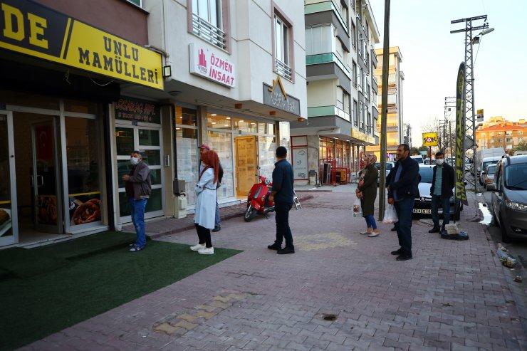 Konya'da yasak öncesi yoğunluğu