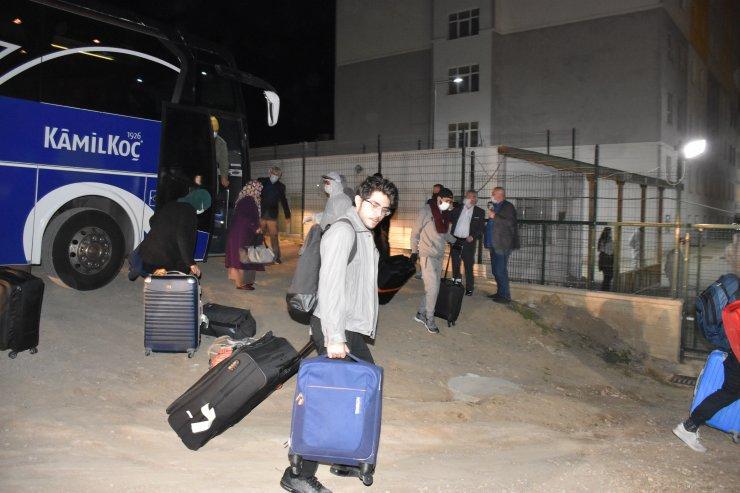 İngiltere'den getirilen 61 kişi, Kırıkkale'de
