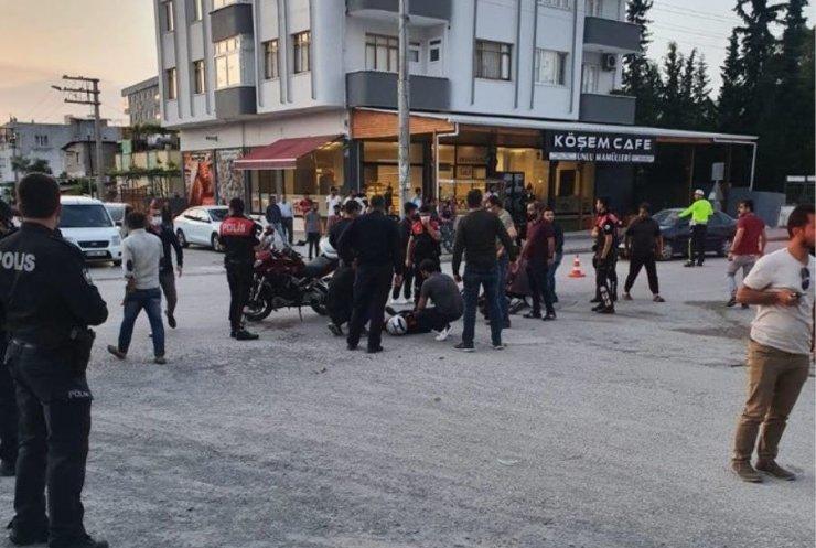 Yunus ekibi otomobille çarpıştı! Motordan fırlayan polis memuru yaralandı