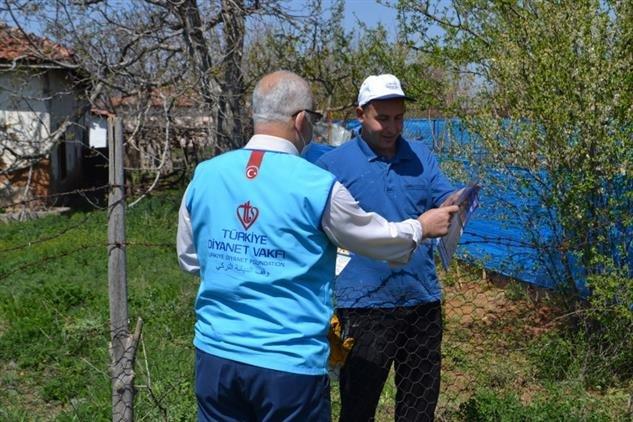 Din görevlileri Kırşehirlilerin yardımına koşuyor