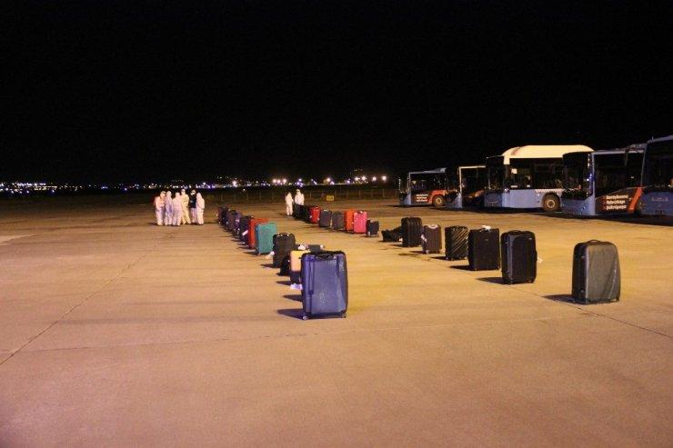 Erzurum'da karantina! Bosna Hersek ve Hırvatistan'dan getirilen 118 kişi getirildi