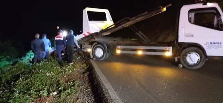 Zonguldak'ta Trafik Kazası 2 yaralı
