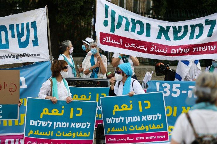 İsrailliler sosyal mesafeyi takmıyor! Netanyahu karşıtı gösteriler devam