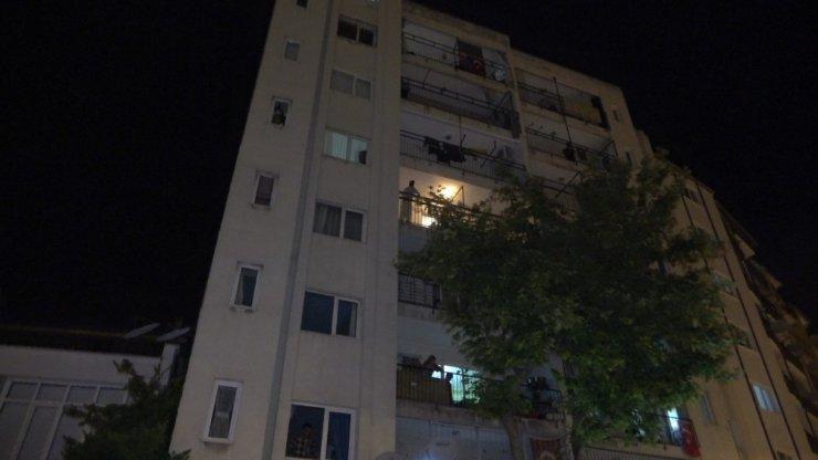 Denizli acı olay! 7'nci kattan düşen genç öldü