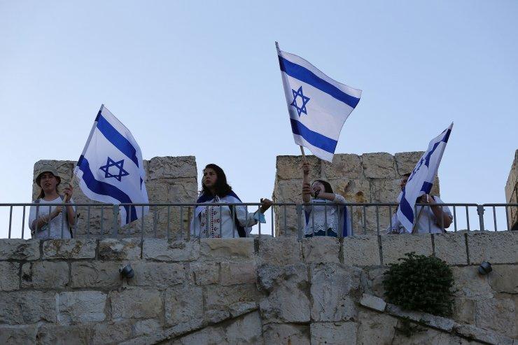 Yahudiler işgalin 53. Yılını kutladı