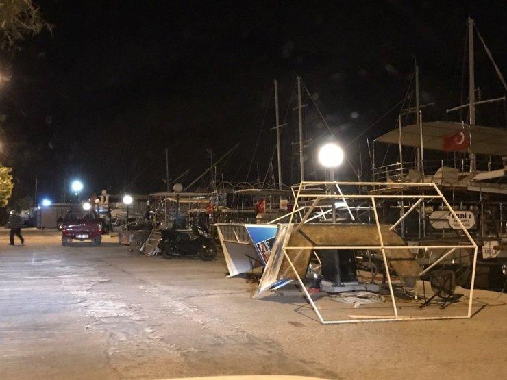 Antalya gece saatlerinde kabusu yaşadı