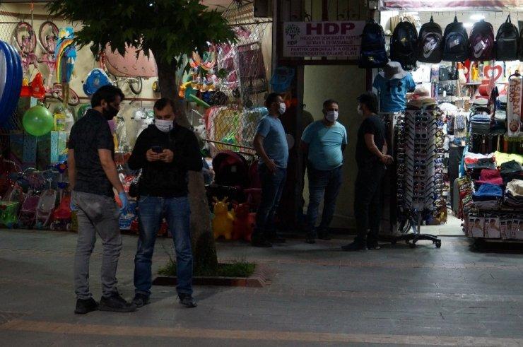 HDP binasına terör baskını!