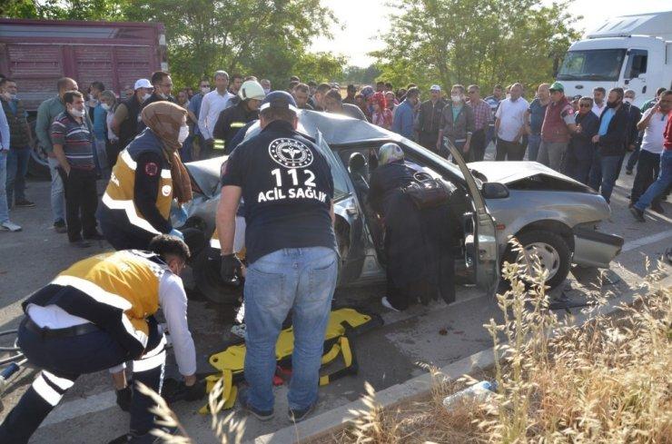 Bu kaza Konya'da yaşandı! Köpeği ezmek istemedi ve sonrasında bu görüntü ortaya çıktı