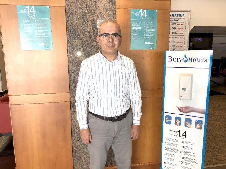 Konya ve Alanya Bera Otelleri belgeyi aldı otellerini açıyor