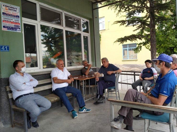 AK Parti teşkilatları mahalle çalışmalarına hız verdi