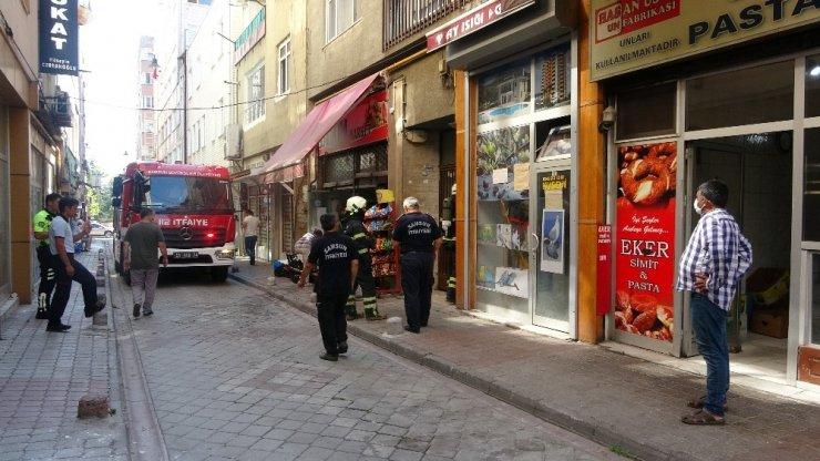 Samsun'da Baca yangını! Apartman sakinleri fırıncıya tepki gösterdi