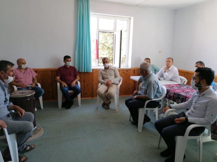 AK Parti Yunuslar, Çukurağıl, Karabayat, Damlapınar, Emen ve Sevindik'te