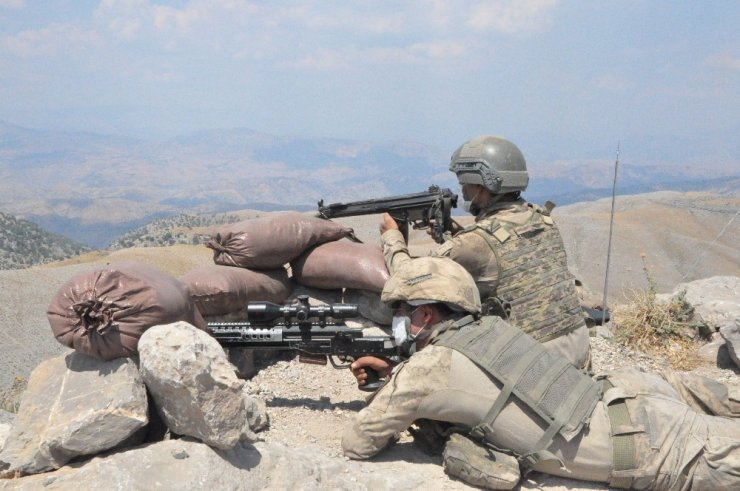 PKK'ya bir darbe daha! Yıldırım-1 Cudi Dağı operasyonu başladı