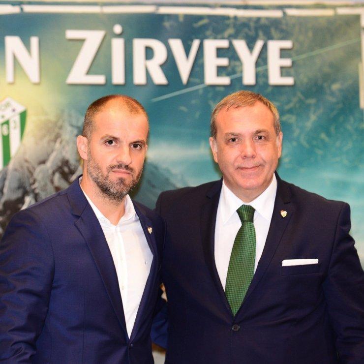 """Bursaspor Başkanı Erkan Kamat: """"Marka değerimizi düşürmeyiz"""""""
