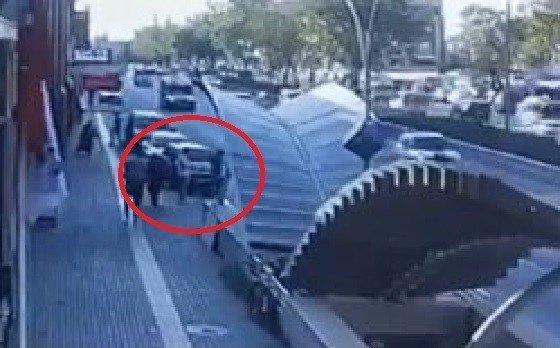 Güpegündüz motor çalan hırsız yakalandı