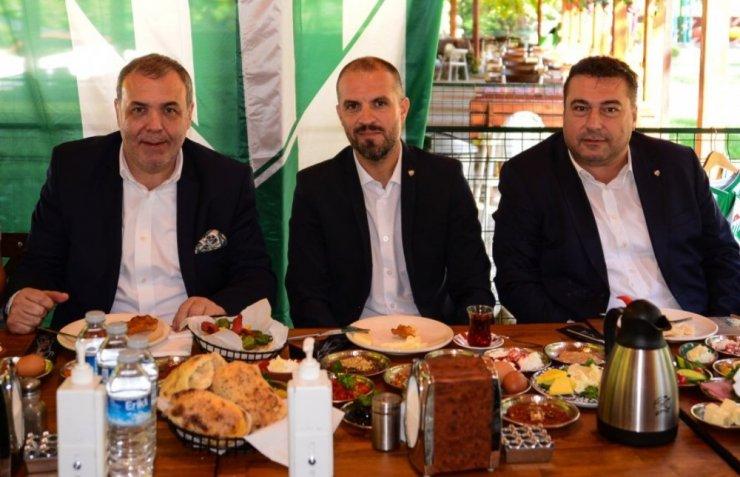 Bursaspor kahvaltıda bir araya geldi