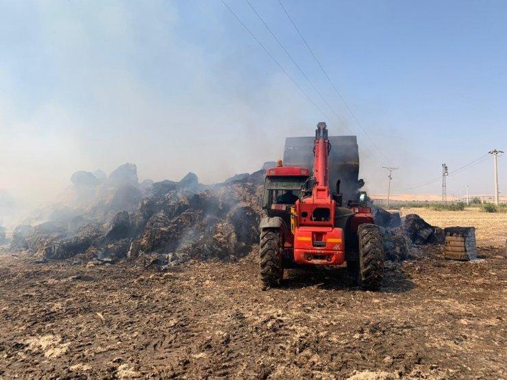 Diyarbakır'da yağ ve küspe fabrikasında yangın
