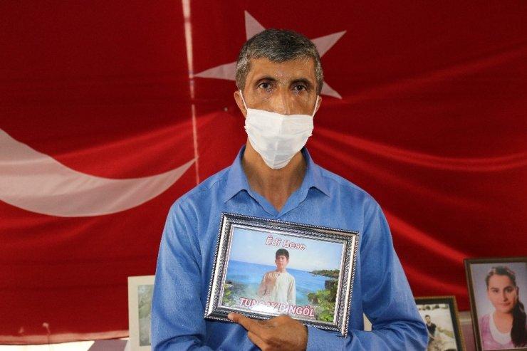 HDP önündeki ailelerin evlat nöbeti 386'ncı gününde