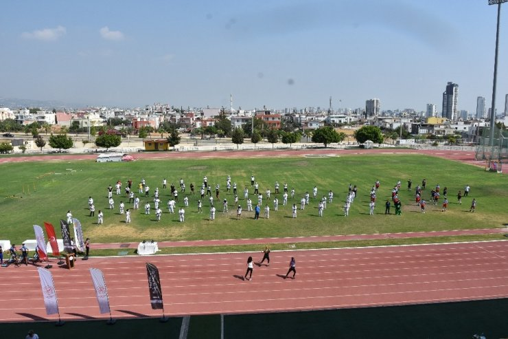 Avrupa Spor Haftası etkinlikleri Mersin'de başladı
