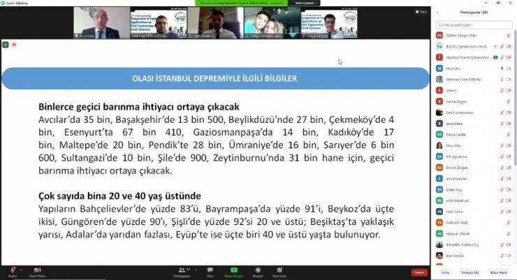 """Prof. Dr. Ilıcalı: """"(Olası İstanbul depremi) Yüzlerce binada orta ve üstü hasar meydana gelecek"""""""