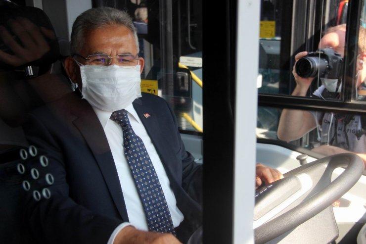 Kayseri Büyükşehir Belediyesi otobüs filosonu 657'ye çıkardı