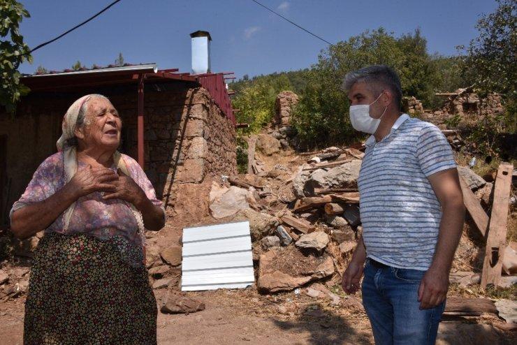 80 yaşındaki Emiş teyzenin su hasreti sona erdi