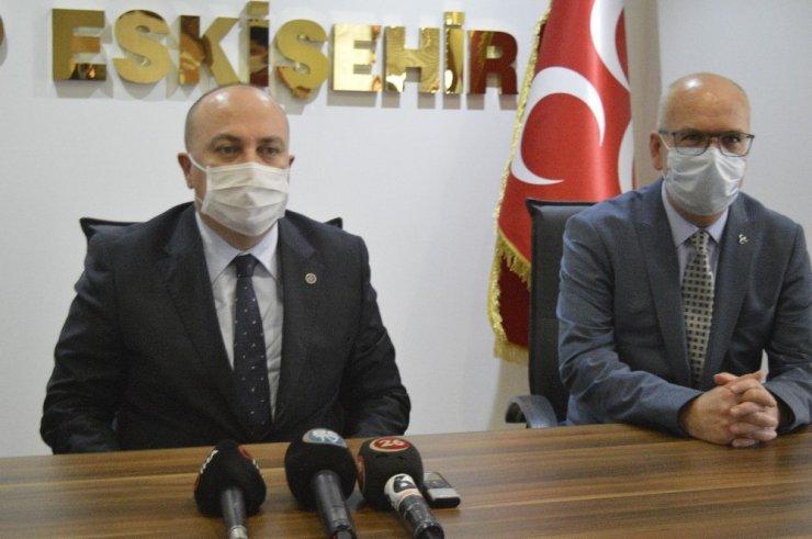 MHP Genel Başkan Yardımcısı Yönter gündemi değerlendirdi