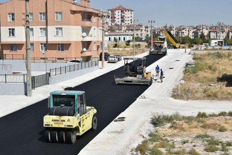 Selçuklu'da asfalt çalışmaları tüm hızıyla sürüyor