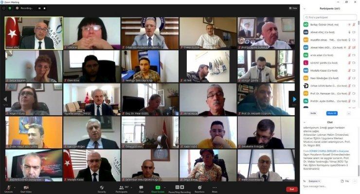 """Manisa CBÜ'nün ev sahipliğinde """"Ulusal Uzaktan Öğretim Çalıştayı 2020"""" gerçekleştirildi"""