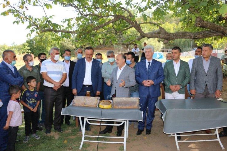 Başkan Sarıoğlu üreticilerin talep ve sorunlarını dinledi