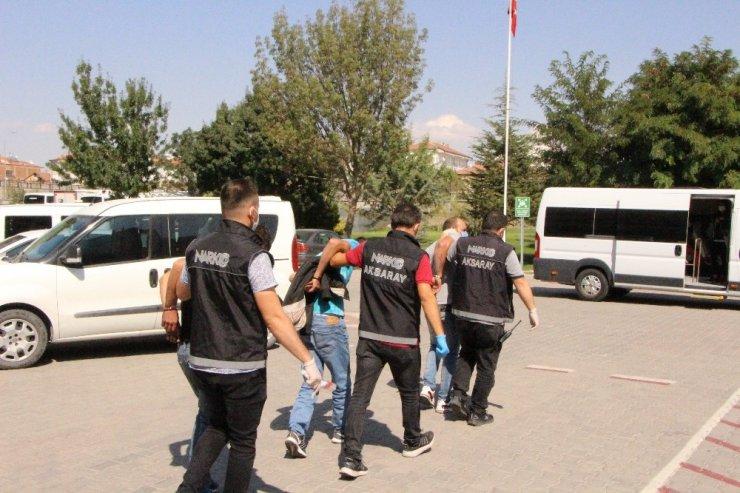 Aksaray'da 5 ayrı uyuşturucu operasyonu: 5 tutuklama