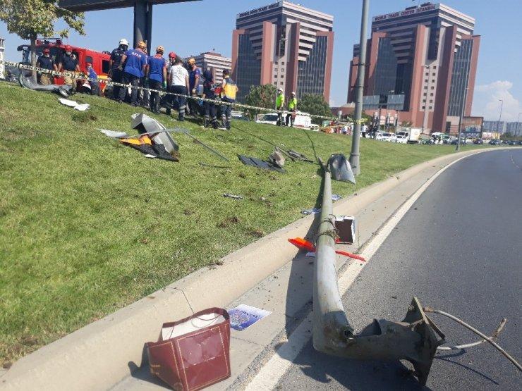 Bakırköy'de feci kaza kaza: 1 ölü