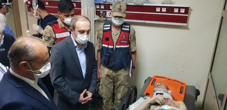 Kop Tüneli'ndeki patlamada yaralanan işçiler olay anını anlattı