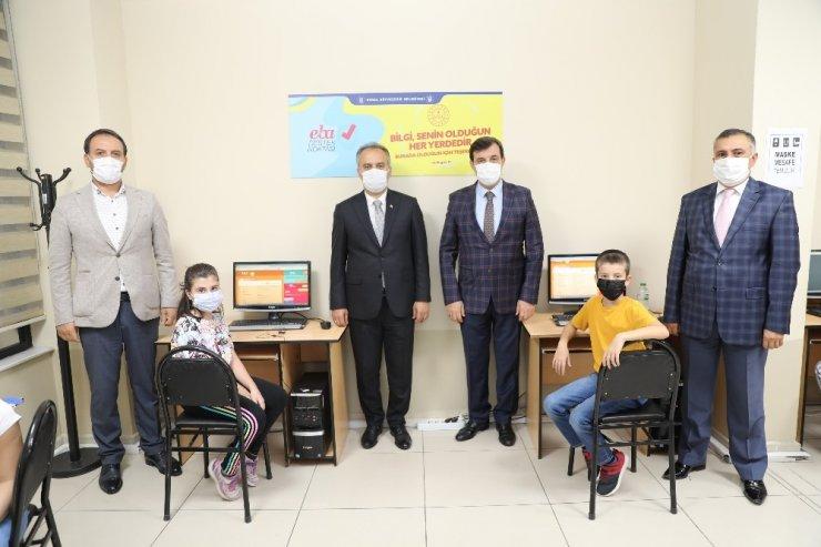 Bursa Büyükşehir Belediyesi'nden uzaktan eğitime sınırsız destek
