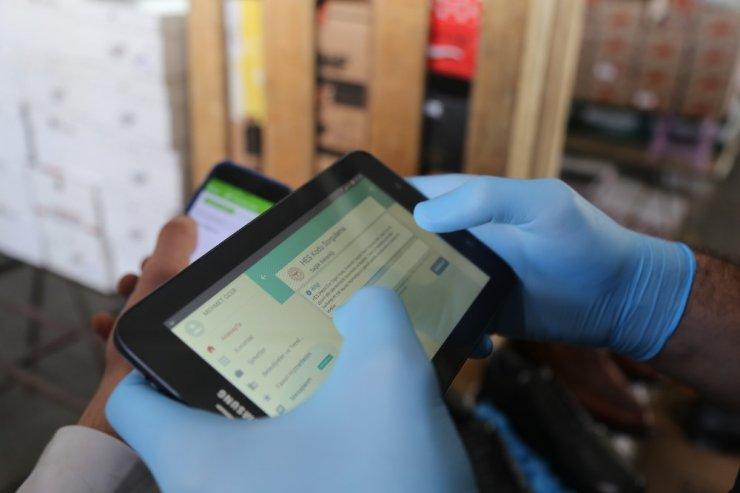 Çameli'de pazarcılardan HES kodu alınmaya başladı