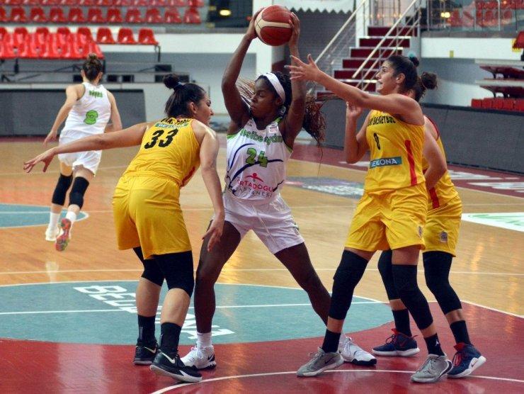 Erciyes Cup: Bellona Kayseri:52 - Nesibe Aydın:74