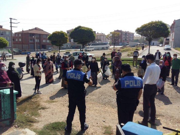 Yabancı uyruklu vatandaşlara Covid-19 bilgilendirmesi