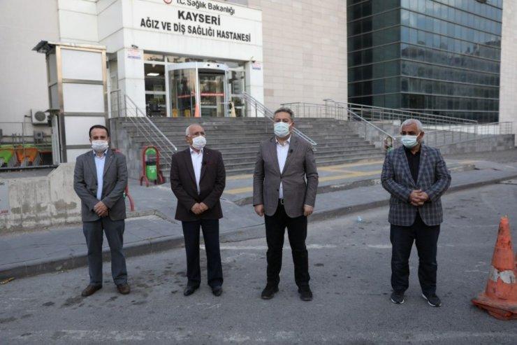 Başkan Palancıoğlu ekibi ile Hürriyet ve Yeniköy Mahallelerinde