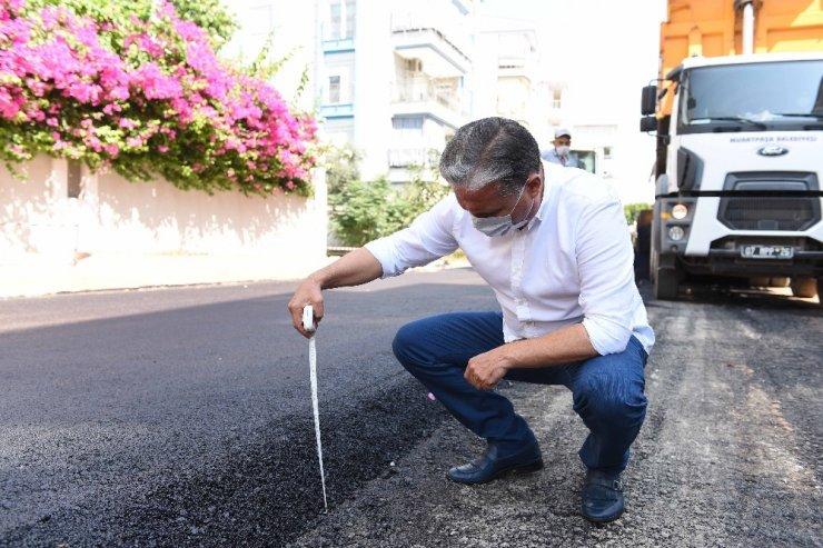 Muratpaşa'da cadde ve sokaklar yenileniyor
