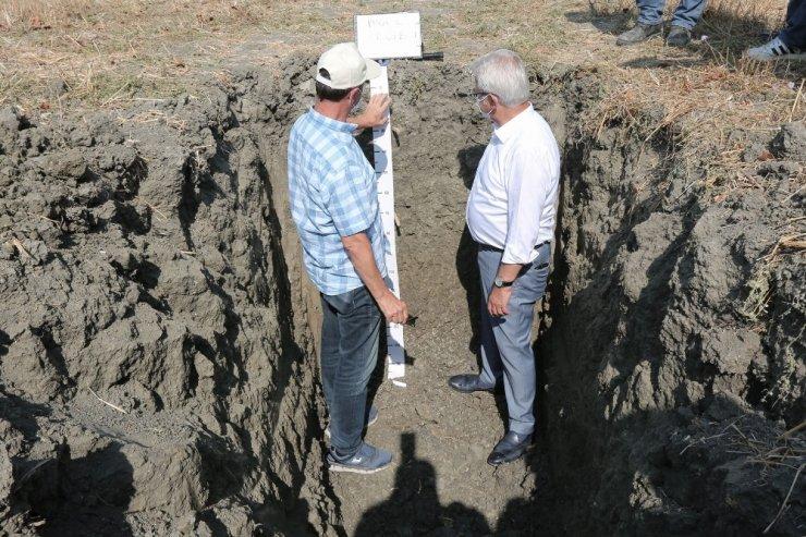 Nilüfer'de toprak analizi çalışmaları devam ediyor