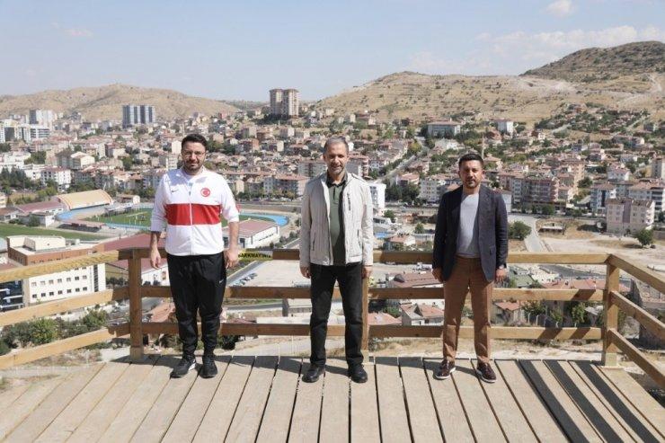 Milletvekili Özel ve Genel Sekreter Yardımcısı Bölükbaşı Kayaşehir'i gezdi