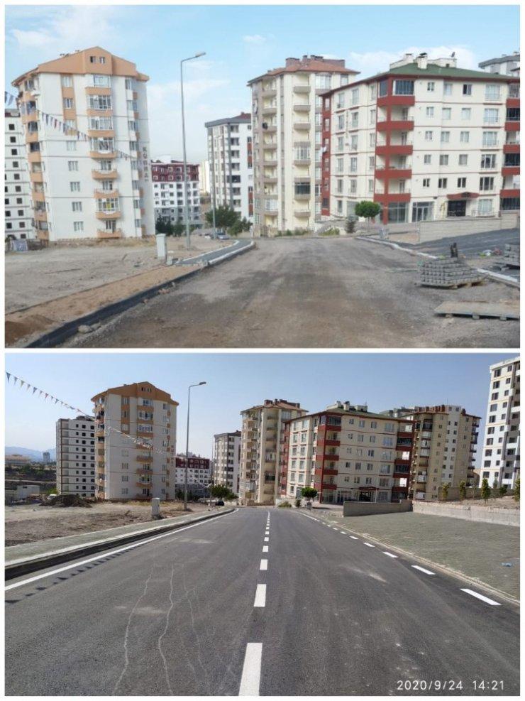 """Başkan Dr. Mustafa Palancıoğlu: """"İki mahalle de toplam 5800 metre yol asfaltlandı"""""""